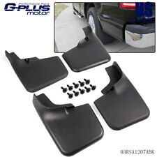Mud Flaps For 2004 - 2014 Ford F-150 Molded Splash Guards Black 2005 2006 2007