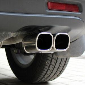 For Suzuki SX4 S-Cross 2014-2021 Steel Rear Exhaust Muffler Pipe Outlet Trim