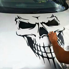 Skull Vinyl Car Hood Decal Large Graphic Sticker SUV Truck Tailgate Window Decor