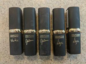 L'Oreal Paris Colour Riche Collection Exclusive Lipstick Choose Shade - Pink