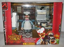 The Muppet Show Swedish Kitchen & Chef Playset Palisades Figure Red Box MISB