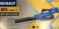 Kobalt 80-Volt Lithium Ion Cordless Leaf Blower Kit w/ Battery & Charger-1083767