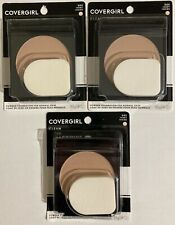 Covergirl Clean Powder Foundation For Normal Skin 505 Ivory Lot of 3