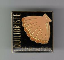 RARE PINS PIN'S .. ANIMAL COQUILLAGE SHELL ST JACQUES MEDECINE THERAMEX ~ER