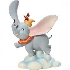 Precious Moments Disney Dumbo Flying Elephant & Timothy Mouse Figurine 163703