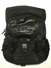 Army National Guard American Soldier Black Backpack Padded Laptop Area
