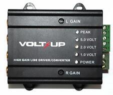 High Gain Line Driver Converter 2 Channel Input Low Output Amplifier Trigger RCA