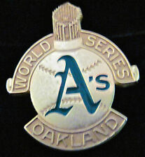 1988-WORLD SERIES--OFFICIAL A's PRESS PIN-MINT