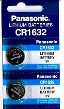 2 Panasonic CR1632 ECR1632 1632 BR1632 DL1632 ECR1632 Battery New Expire 2020
