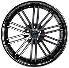 """20"""" ROHANA RC20 STAGGERED WHEELS 5X114.3 MACHINE FITS FORD MUSTANG 1994-2004"""
