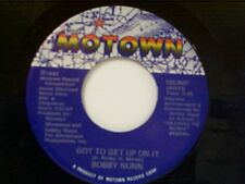 """BOBBY NUNN """"GOT TO GET UP ON IT / YOU NEED NON-STOP LOVIN"""" 45 NEAR MINT"""