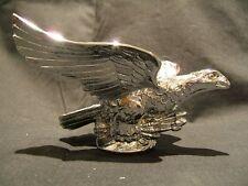 CHROME PLATED FLYING EAGLE CAR BONNET MASCOT