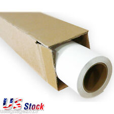 """US 24"""" x 98´ Roll White Color Printable Heat Transfer Vinyl For T-shirt Fabric"""
