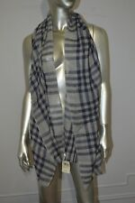 LUCKY BRAND Plaid Scarf 100% Wool New