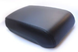 Console Armrest Leather Synthetic Cover for Jeep Grand Cherokee 93-98 Black