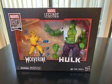 Marvel legends 80 years anniversary wolverine and hulk box set