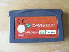Nintendo Gameboy Advance-Davis Cup Tennis-Cartridge Nur-Free UK p&p