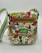 Lily Bloom Green Living Nessa Tote Cat Floral Print- Eco Friendly-FAST FREE