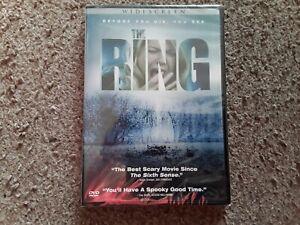 The Ring (DVD, 2003, Region 1) New Sealed Freepost
