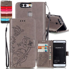 Magnetic Flip Stand Card Leather Case Wallet Case Cover Skin For Huawei Phone