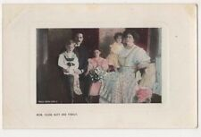 Mdm. Clara Butt & Family Postcard, B590