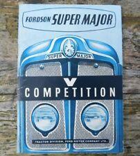 Fordson Super Major Salesman's Tractor Brochure c1961 - 1964