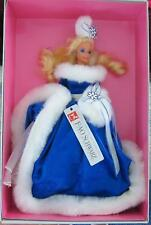 WINTER FANTASY Barbie Doll Blue ER 14+ 1990 FAO Schwarz Fifth Ave Exclu SE LE