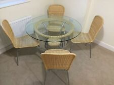 John Lewis Glass Up to 4 Seats Table & Chair Sets