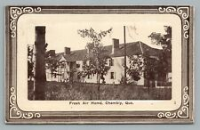 """Fresh Air Home"" CHAMBLY Quebec CPA Rare Antique Postcard 1910s"