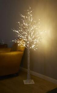 LED Baum Lichterbaum warm-weiß Innen Außen Deko Birkenbaum-Optik Lichterzweige