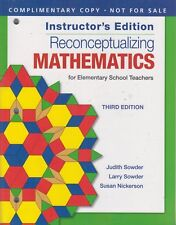 Reconceptualizing Mathematics : For Elementary School Teachers by Susan Nickerso