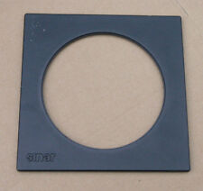 genuine Sinar F & P  lens board panel with large 102.22mm hole