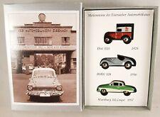 "BUB Set ""Automobile Welt Eisenach""  Dixi 3/15, BMW 328, Wartburg 311"