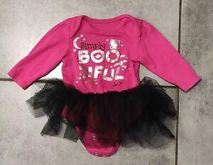 George Baby Girls Tutu Bodysuit 3-6 Months