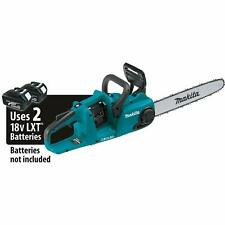 """Makita XCU04Z 18V X2 (36V) Lith‑Ion Brushless Cordless 16"""" Chain Saw, Tool only"""