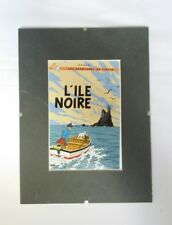 Cadre Les aventures de Tintin - L'ile Noire / HERGE / BD