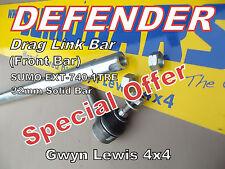 Land Rover Defender Drag Link Bar 32mm Extreme Heavy Duty Steering Bar SUMOBARS
