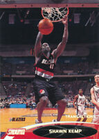 Shawn Kemp 2000-01 Topps Stadium Club #126 Trail Blazers card