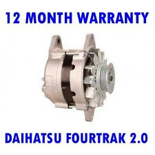 DAIHATSU FOURTRAK 2.0 1985 1986 1987 1988 - 1993 REMANUFACTURED ALTERNATOR