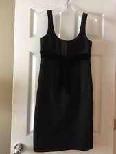 Nanette Lepore Black Dress 8