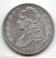 U.S.A. 1/2 Dolar 1834 Liberty Capped  @ EXCELENTE @