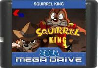Squirrel King (1995) 16 Bit Game Card For Sega Genesis / Mega Drive System