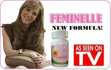 2 bottles FEMINELLE (30 CAPS each btle) 100% ORIGINAL Menopausia 2 months SUPPLY