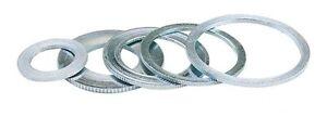 MTL Reducing Rings, Bushes Sawblade Spacer Bushing Washers 10 sizes German made