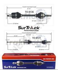 For Lexus RX300 AWD 1999-2003 Pair of Front CV Axle Shafts SurTrack Set