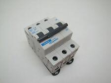 (BRAND NEW) Box of  4 NHP Terasaki 675781 3 POLE 16A 6kA C CURVE CIRCUIT BREAKER