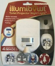 Illumibowl Toilet Projector Night Light, Holiday Edition