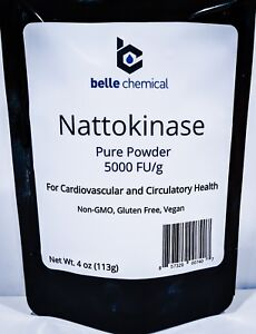 Pure Nattokinase Powder - Non-GMO, Gluten Free, Vegan Bulk