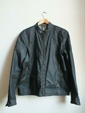 *** BELSTAFF OUTLAW WAX JACKET, Black, SRP £495, XXL, New With Tags ***