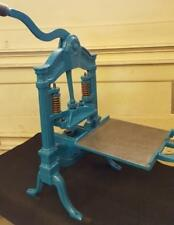 AB Taylor Hat Press Circa 1850 Tabletop Letterpress Washington Albion Vandercook